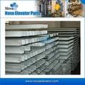 Contrapese el carril de guía hueco del elevador, elevador/piezas de la elevación