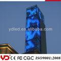 Proyecto grande de iluminación con a todo color pantallas led