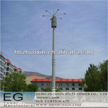 de telecomunicaciones octogonal de acero gsm comunicación torre de celosía