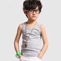 Simples crianças tops, crianças roupas de verão verão 2014
