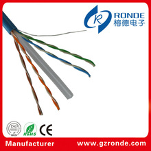 china fabricante cat6 23 awg utp cable de red de cable de teléfono