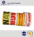 el cliente cinta de bopp impresa con el logo de máximo 4 colores de impresión