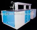 Mesa de laboratorio, banco de laboratorio, muebles de laboratorio, banco de laboratorio, de madera mesa de laboratorio