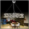 Anillo de diseño de moda de la lámpara LED Ronda Candelabros Diseño luces pendientes modernas del MD88056
