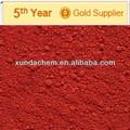 recubrimiento en polvo de color rojo óxido de hierro