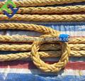 Venta caliente 8- línea uhmwpe remolcador cuerda marina