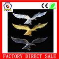 Emblema do carro, custom caveira de metal emblemas do pino,, custom metal piloto asas pinos badge(hh- emblema- 097