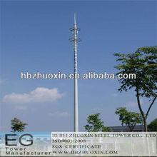 octogonal de telecomunicaciones multifunción de acero de la torre de un solo polo