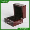 Medida pequeña caja de madera para embalaje de la joyería