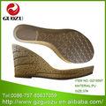 la suela de pu materiales para hacer de sandalias