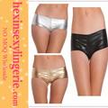 venta al por mayor de moda 2014 resplandeciente de oro de la moda mujer ropa interior
