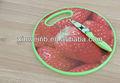 projeto frutas madeira tábua de plástico
