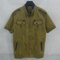 nuevo diseño de la camiseta slim fit chino de ropa de marca barata para el hombre