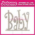 201 pastel de diamante de imitación bodas Topper para el cumpleaños del bebé