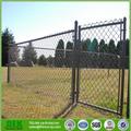 acero galvanizado recubierto de PVC verde valla de tela metálica