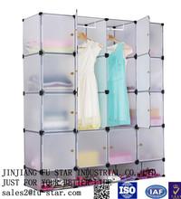 diy portátil armários design crianças roupas wardrobe de dobramento plástico sapato armário de armazenamento