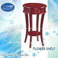 Muebles para el hogar bélgica de estilo antiguo de madera de soporte de flor hecha en china( c- 04#)