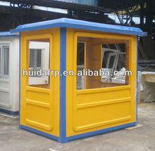 de fibra de vidrio casa móvildiseño al aire libre de seguridad cabina de guardia