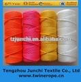 Colorido 210d/36 multifilamento trançado fio de nylon de pesca