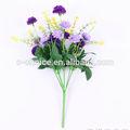 7 Jefes Artificial Crisantemo Flores al por mayor