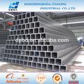 ASTM A500 grado A B C tubo de acero rectangular