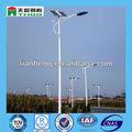 calle de energía solar del poste de luz