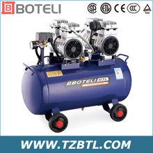 eléctrica de mantenimiento de automóviles movible ultra silencioso y de aceite- libre de compresores de aire para la venta