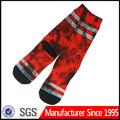 Custom rde meia tubo/red sox/moda jovem meia tubo