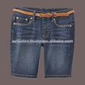 de alta calidad para damas dril de algodón pantalones vaqueros pantalones cortos con la fantasía de pantalones cortos