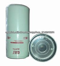 Para cummins generador, para LF777 filtro de aceite de derivación Fleetguard