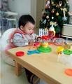 Mesa plegable portátil/de madera maciza mesa de comedor/mesa de camping/mesa de niño