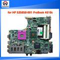 100% probados de alta calidad para 535858-001 hp probook 4510s placa base