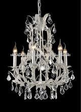 internacional de nuevo diseño de comedor sala de araña de cristal