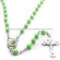 Religious catholic Rose Rosary necklace,JBH201401-189