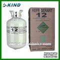 13.6kg/30lbs desechables cilindro de gas refrigerante r12 para la venta