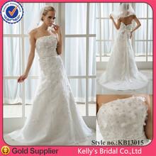 2013 bola colección de encaje bordado vestido vestir a novias