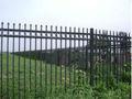 clôture en fer forgé