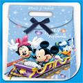 de dibujos animados lindo regalo de embalaje con la bolsa de mickey mouse