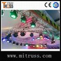circular de techo truss círculo truss de iluminación
