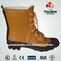 yl8017 2014 botas de agua de la moda con cordones