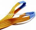 Eb de poliéster eslinga de cinta plana/cinturón de levantamiento/correas de carga