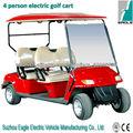 4 persona carrito de golf, rápido, seguro, CE, EG2049K