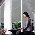 diseño de moda oscuras persianas exteriores enrollables motorizadas