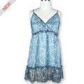 2013 vestido de la gasa de la mujer hecho en China