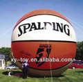 Inflable pelota de baloncesto, globo de la publicidad