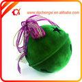 verde de la pila de revestimiento jingle bell para la decoración del hogar