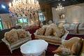 Estilo europeo nuevo clásico sofá de sala de recibo