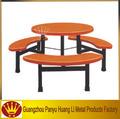 baratos mesa de jantar redonda e 6 cadeiras de alta qualidade da fibra de vidro de mesa