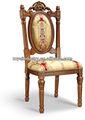 de estilo europeo antiguo tallado sólido silla de madera muebles de shunde