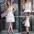 Dorisqueen ( doris ) 2014 original design strapless branco vestido de noiva elegante